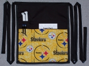 Pittsburgh Tye Die Steelers Side Apron