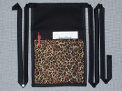 Cheetah Pouch with Bands