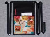 Coffee Cafe Pouch with Bands