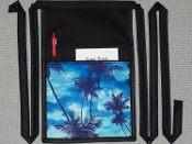 Daybreak Palms Pouch with Bands