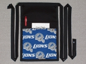 Detroit Lions New Pouch with Bands