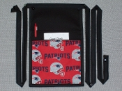New England Patriots Pouch with Bands