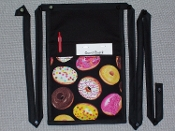 Donuts Pouch with Bands